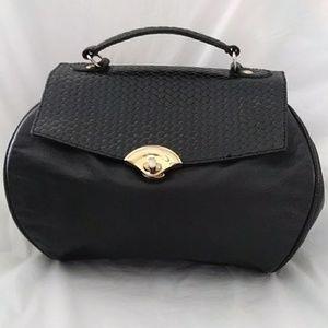Giani Bernini Leather Bag Black